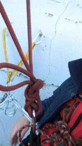 zajištění tahu lana
