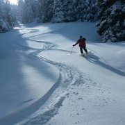 Stuhleck – konečně na skialpech (20.2.2016)