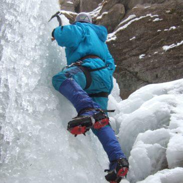 Lednové ledy – Sůlovský (Hričovský) ledopád
