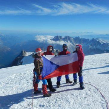 Jak jsme dobývali nejvyšší horu Evropy