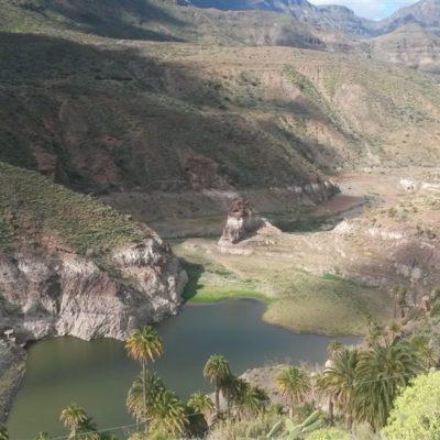 Gran Canaria , JV strana, typické horské údolí