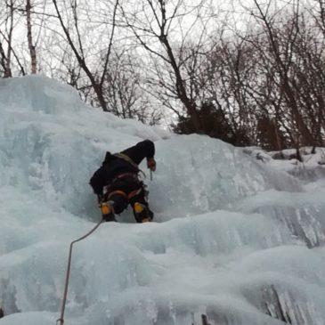 Lednové ledy II – tentokrát v lomu Bystřička u Kráľovan SK